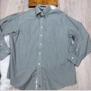 Nordstrom Wrinkle Free Button Front Shirt A1049